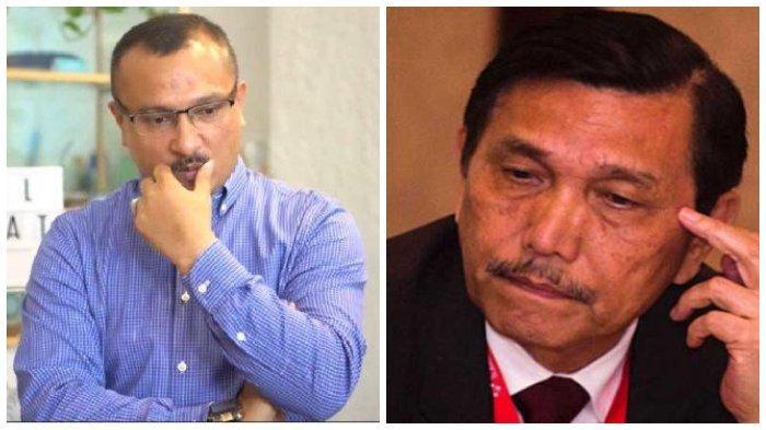 Tangan Luhut Binsar Panjaitan Dicium Ferdinand Hutahaean Jubir Prabowo-Sandi, Ternyata Ini Alasannya