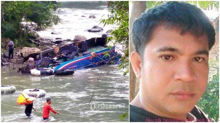 Hal Aneh dan Pesan Terakhir Ferri Sopir Bus Sriwijaya ke Ibu Jelang Kecelakaan, 35 Penumpang Tewas