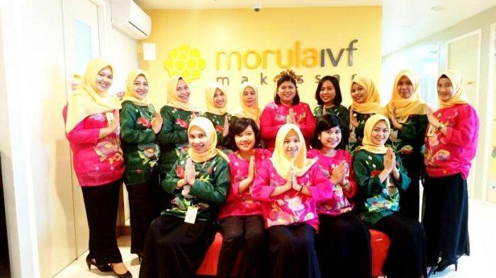 Hari Kebudayaan, Staff Morula IVF Makassar Kompak Kenakan Baju Adat