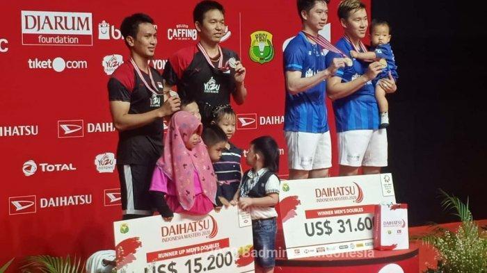 Deretan Fakta Indonesia Juara Umum Indonesia Masters 2020, Marcus/Kevin Tak Terkalahkan di Istora