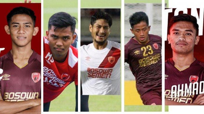 UPDATE Pemain PSM di Liga 1 2020, 18 Dipanggil, 8 Tunggu Panggilan, 9 dari Akademi dan 4 Dipinjamkan