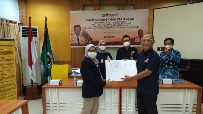 FIS UNM Kerjasama Pertukaran Mahasiswa dengan Universitas Jember