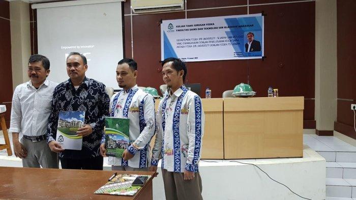 Fisika UIN Alauddin Jalin Kerjasama dengan Fisika IPB University