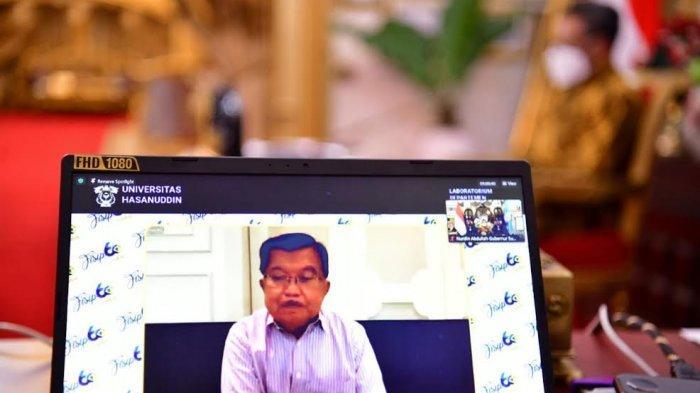 Jusuf Kalla dan Nurdin Abdullah Hadiri Tudang Sipulung Virtual Dies Natalis ke-60 FISIP Unhas