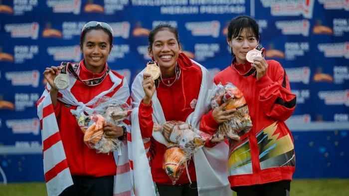 Pelari Putri Sulsel Raih Medali Perunggu PON Papua