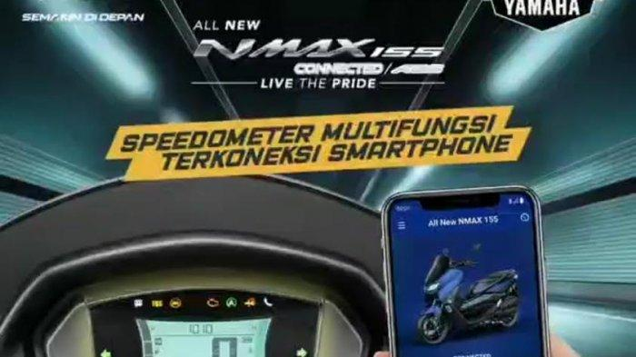 Intip Fitur Favorit New NMAX 155 Connected/ABS