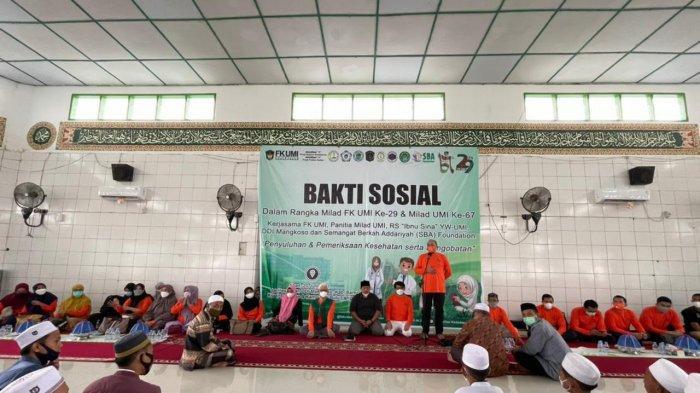 FK UMI Gelar Penyuluhan Kesehatan di Pesantren DDI Mangkoso