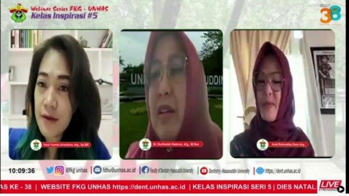 Kelas Inspirasi Seri-5 FKG Unhas Hadirkan Andi Rachmatika Dewi