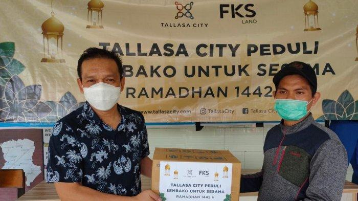 Tallasa City Berbagi 600 Paket Sembako