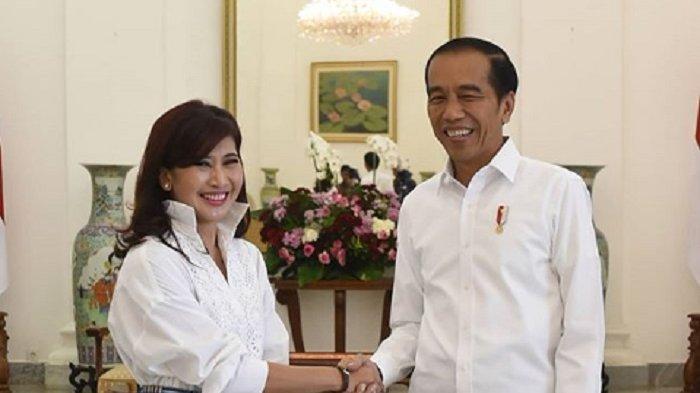 Artis Ike Muti Sedang Trending Apa Hubungannya dengan Jokowi dan Anies Baswedan, Apa Isi Somasi?
