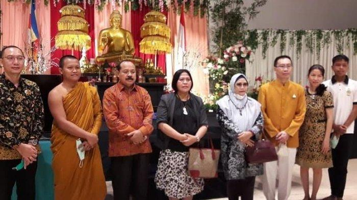 Dirjen Bimas Buddha Kementerian Agama Kunjungi Vihara dan Klenteng Makassar
