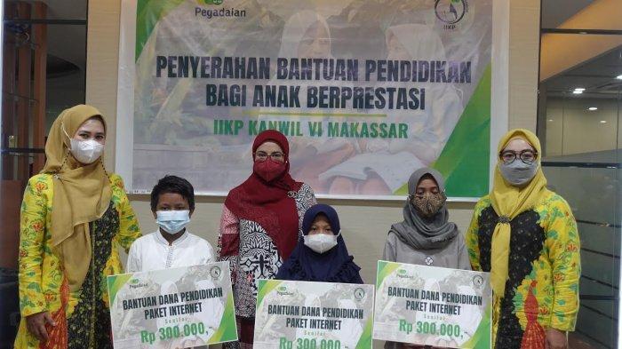IIKP Kanwil Makassar Serahkan Beasiswa Rp 16,8 Juta untuk ...