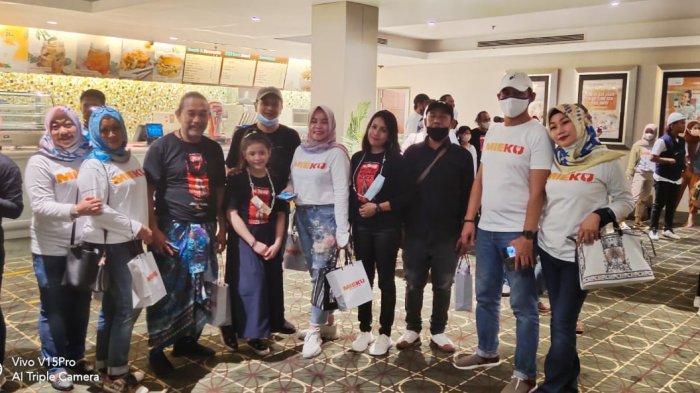 Mieku Hadir di Makassar, Dimeriahkan Nobar Film De Toeng di XXI MaRI