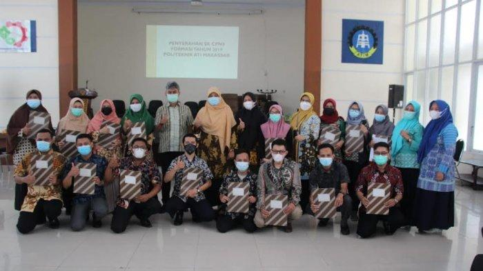 17 CPNS Formasi 2019 Politeknik ATI Makassar Terima SK Pengangkatan