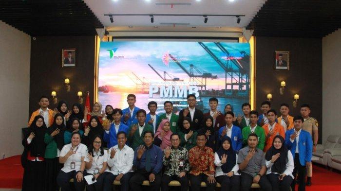 31 Mahasiswa PMMB di Pelindo IV Makassar
