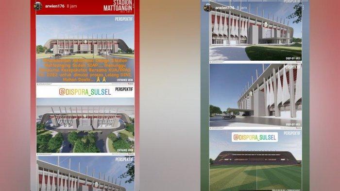 Inilah Harapan-harapan Fans PSM Makassar terhadap Pembangunan Stadion Mattoanging, Semoga Didengar