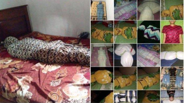 Foto-foto korban Gilang Bungkus yang heboh di media sosial