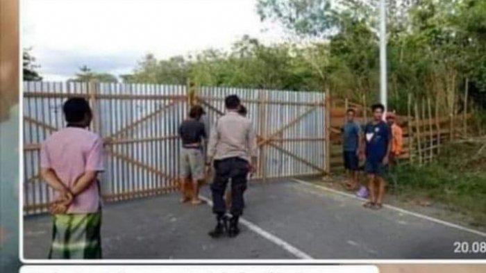 Beredar Foto Penutupan Akses Jalan Perbatasan Takalar Jeneponto, Humas Polres: Itu Hoax