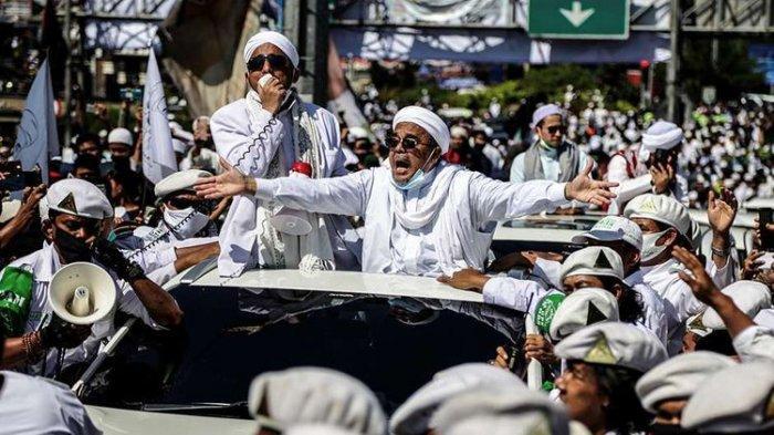 FPI Resmi Dibubarkan Pemerintah, Kabar Buruk buat Rizieq Shihab, Mahfud MD Jelaskan Alasannya
