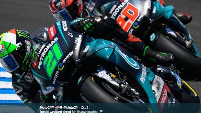 Hasil MotoGP San Marino 2020 - Franco Morbidelli Menang, Valentino Rossi Ditikung Joan Mir