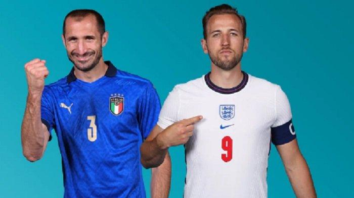 LIVE SCORE & Live Streaming Italia vs Inggris, Gli Azzurri Unggul H2H Tapi Stadion Milik Three Lions