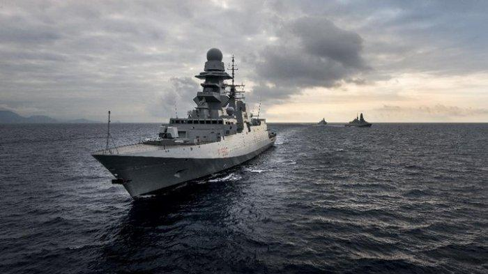 Indonesia Borong Kapal Perang Fregat dari Italia, Begini Kehebatannya