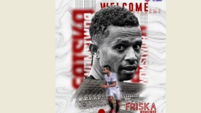 Tiga Pemain PSM Makassar Dipinjamkan ke Persijap Jepara, Termasuk Friska Womsiwor