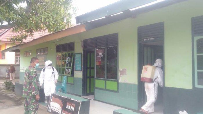 Pemuda Pancasila Luwu Buat 15 Ribu Masker, FPI Semprotkan Cairan Disinfektan