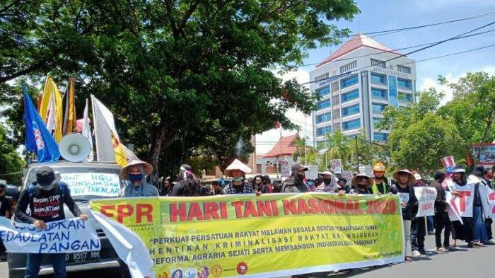 Ini 10 Tuntutan Front Perjuangan Rakyat Sulsel di Hari Tani Nasional