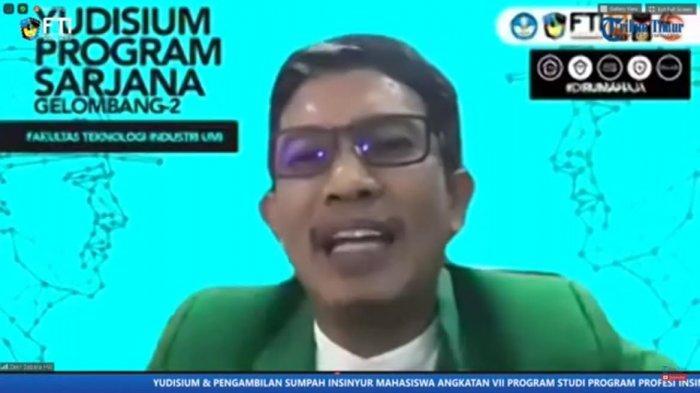 Yudisium Sarjana FTI UMI, Zakir Sabara: Jaga Jiwa-Jiwa Patriotisme Kepada Almamater Kita