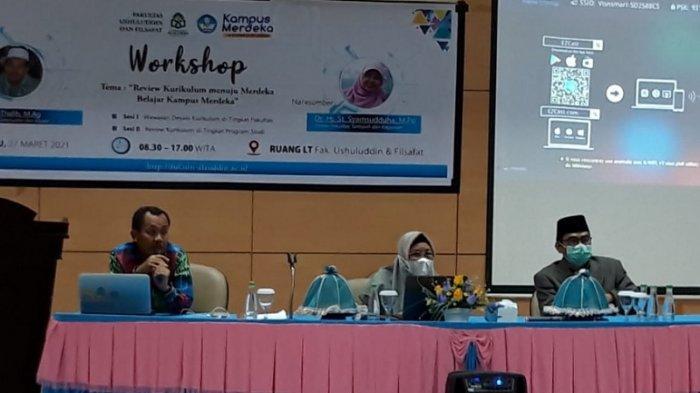FUF UIN Alauddin Adakan Workshop Kurikulum Merespon Konsep Merdeka Belajar