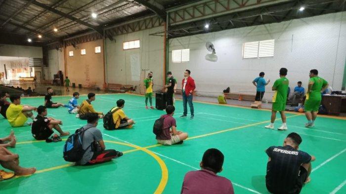 Patuhi Protokol Covid-19  Tim Futsal Sulsel Seleksi Pemain Bertahap, Target Emas di PON Papua 2021