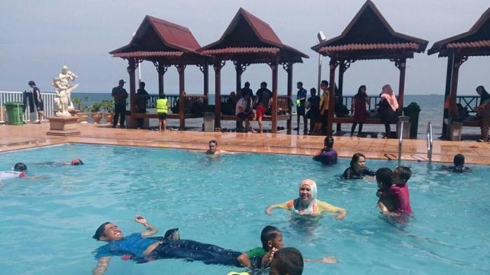 Pantai Galesong Utara, Padukan Outbound dan Wahana Bermain Anak