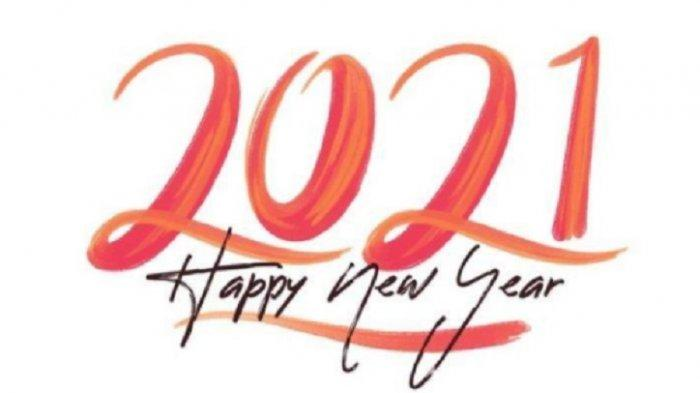 Download Gambar dan Ucapan Selamat Tahun Baru 2021 Bahasa Indonesia dan Inggris, Don't Look Back!