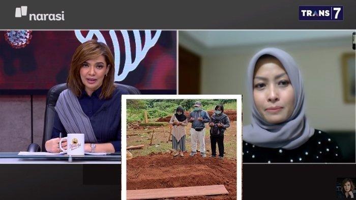 Gara-gara Covid-19, Eva Rahmi Tak Bisa Lihat Wajah Ayah Bunda Sebelum Dikubur, Respon Najwa Shihab