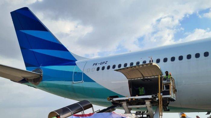 Airbus A330-300 Garuda Indonesia Layani Kargo Rute Khusus Makassar-Singapura