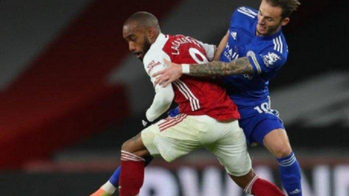 Prediksi Susunan Pemain & Live Streaming Leicester City vs Arsenal via Live Streaming Mola TV