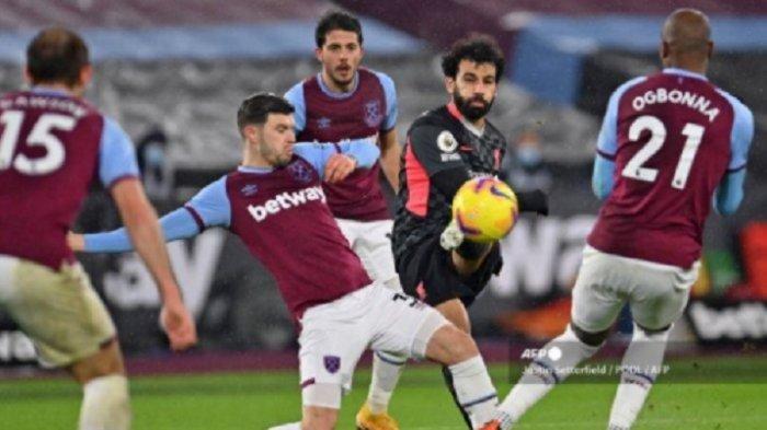 Klasemen Terbaru Liga Inggris: Liverpool Tumbangkan West Ham, Mohammed Salah 'Ngamuk' Cetak Brace