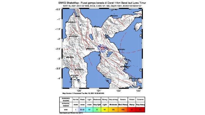 Gempa Bumi 3,6 SR Guncang Malili Luwu Timur di Tengah Malam Ini, Tips Selamatkan Diri Saat Gempa