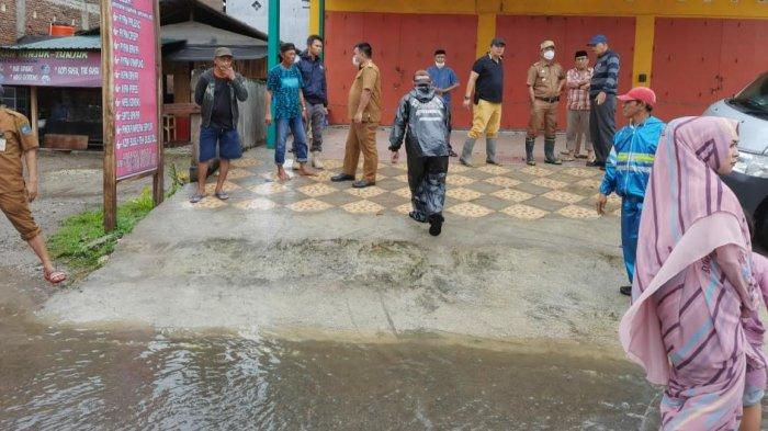 Jalan Kusuma Bangsa Bulukumba Tergenang, Rudy Ramlan: Belum Tersentuh Tim Pengendali Banjir