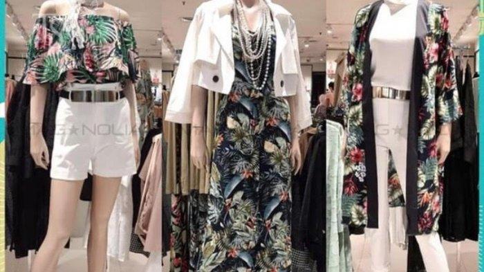 Motif Baju Floral Chic Magnolia TSM Paling Laris Jelang Lebaran