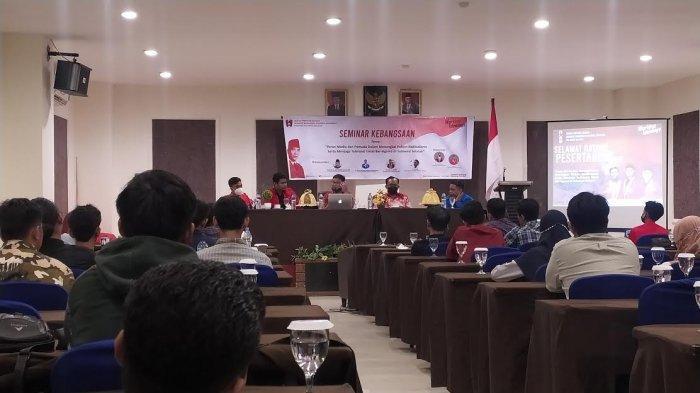 Seminar Kebangsaan GMNI Sulsel Bahas Radikalisme dan Toleransi