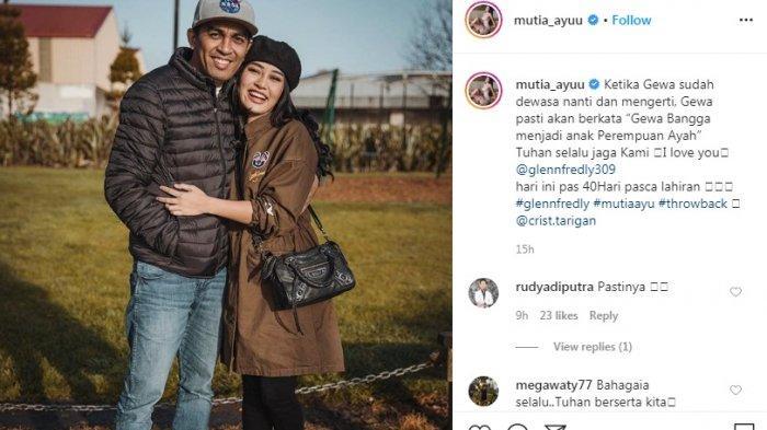 Glenn Fredly Meninggal Dunia, 15 Jam Lalu Istri Mutia Ayu Posting Foto Berdua di IG 'I Love You'