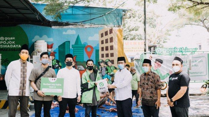 Gojek Makassar Sukses Terapkan Adaptasi Baru Penyaluran Daging Kurban Iduladha 1441 H