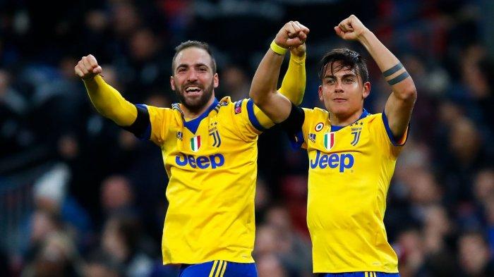 Hasil Liga Italia - Juve Gasak Inter, 3 Striker Argentina jadi Bintang. Gol Ronaldo? Lihat Video