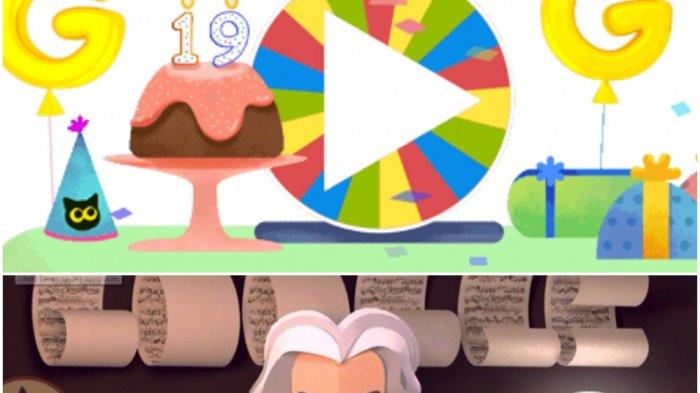 Google Doodle Hari Ini - Selamat Ulang Tahun ke-19 Om Google, Si Mesin Pencari Raksasa