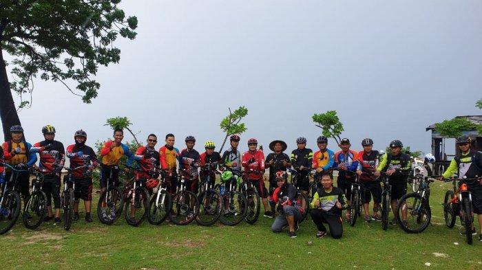 Gowes Kamtibmas, Kapolres Maros Bersepeda di Jalur Sepanjang 45 Kilometer