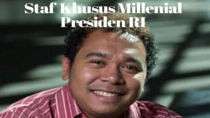 Gracia Billy Mambrasar, Anak Muda dari Tanah Papua Jadi Staf Khusus Presiden Jokowi