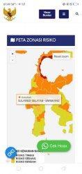 Kabupaten Enrekang Kini Zona Orange Penyebaran Covid-19