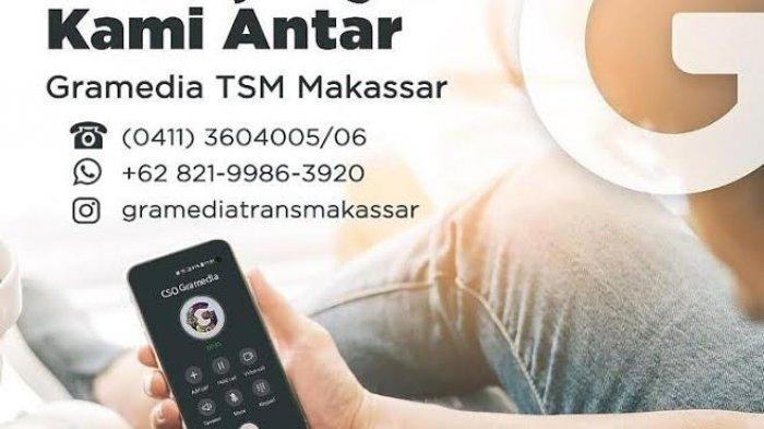 Gramedia TSM Makassar Hadirkan Layanan Pesan Antar, Gratis Ongkir